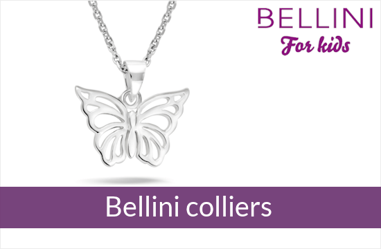 Bellini for kids - zilveren kinder colliers