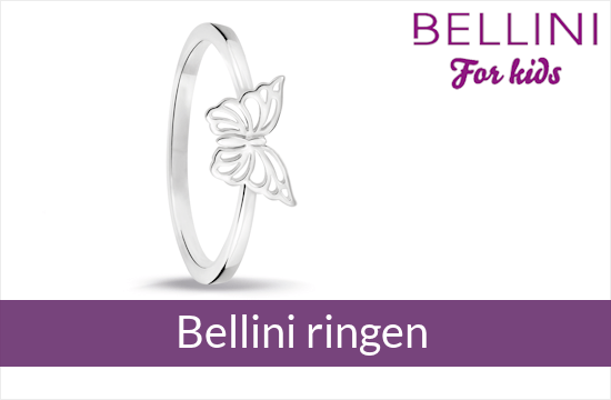 Bellini for kids - zilveren kinderringen