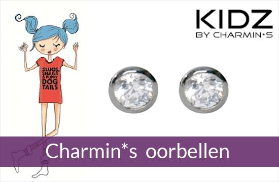KIDZ by Charmin*s - zilveren kinderoorbellen
