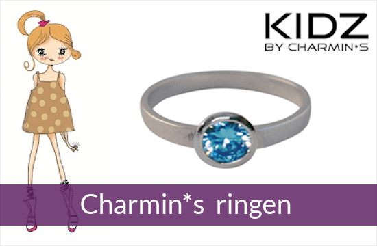KIDZ by Charmin*s - zilveren kinderringen
