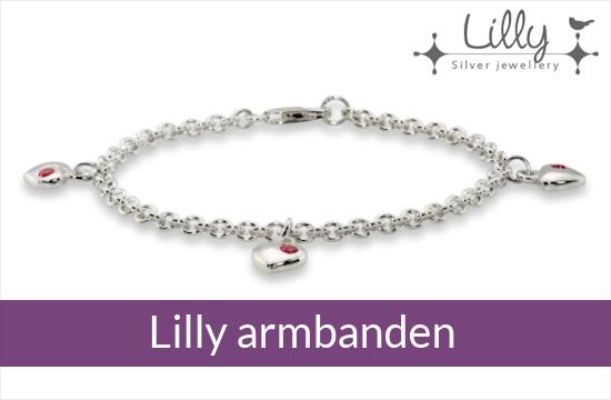 Lilly - zilveren kinder armbanden