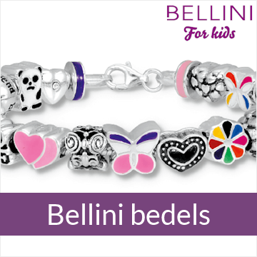 Bellini for kids - zilveren bedel armbanden