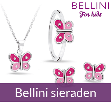 Bellini for kids - zilveren kindersieraden