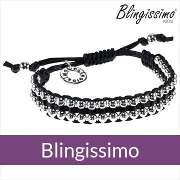 Blingissimo - handgeknoopte armbanden met zilver