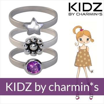 KIDZ by Charmin*s - zilveren kindersieraden, oorbellen en ringen
